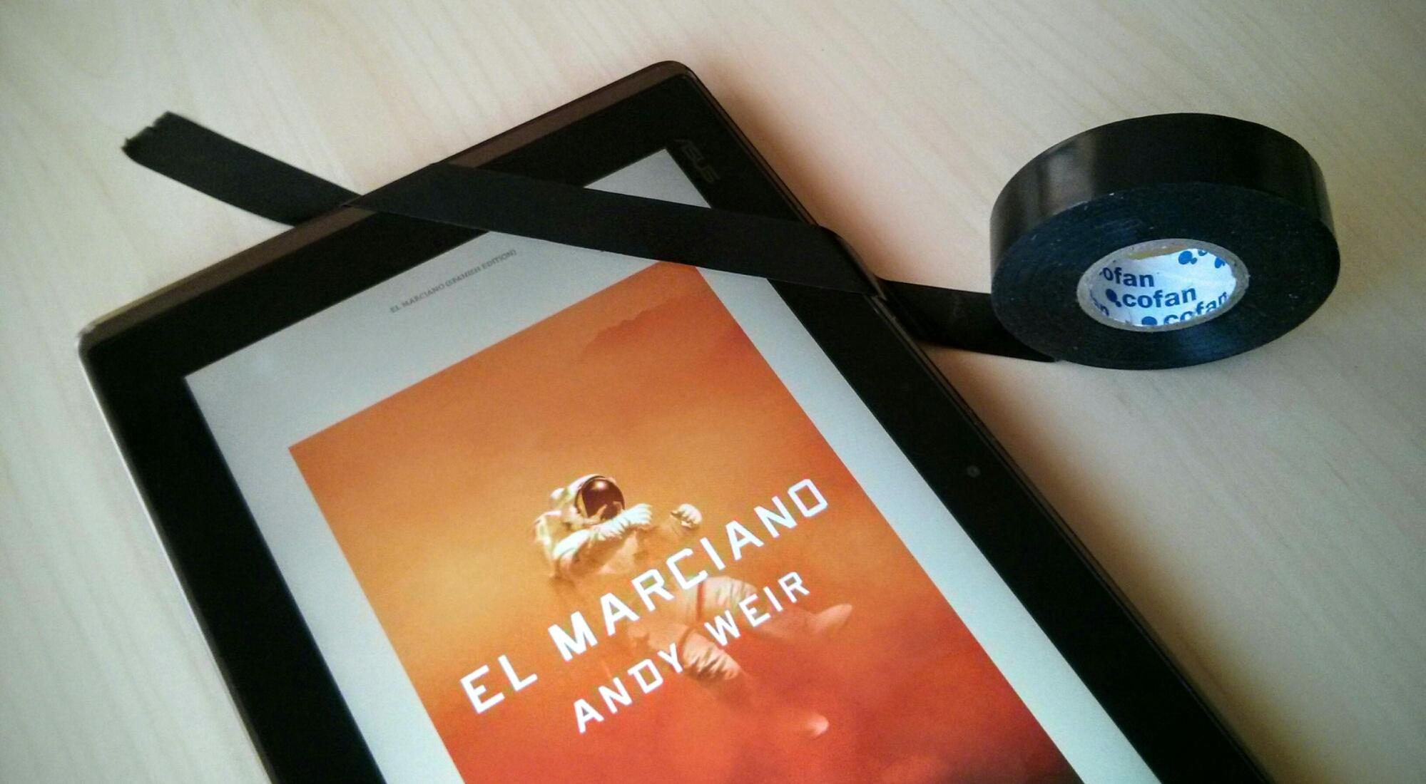 El marciano, de Andy Weir